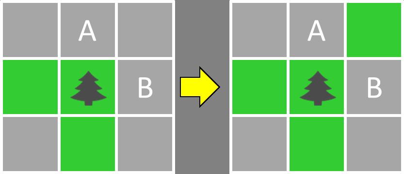 芝生確定パターン1